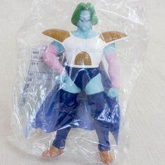 Dragon Ball Z Zarbon Collectible Sofubi Figure 3 Banpresto JAPAN ANIME