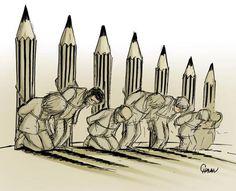 """""""Charlie Hebdo"""" : des hommages en images - L'actu Médias / Net - Télérama.fr"""