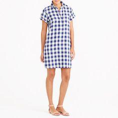 J.Crew+Factory+-+Short-sleeve+shirtdress
