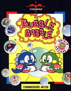 Bubble Bobble on C64. One of the best games I have ever played. Can still pick it up now for a game.