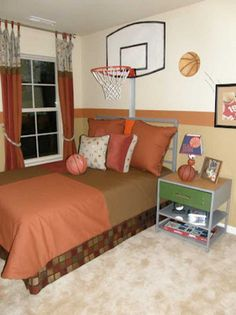 Basketball Bedroom, Basketball Couples, Basketball Boyfriend, Basketball Cupcakes, Basketball Signs, Basketball Posters, Basketball Birthday, Home Bedroom, Bedroom Designs