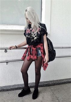 #grunge #grunge fashion #grunge outfit #grunge style 310 notes Apr 8th, 2017