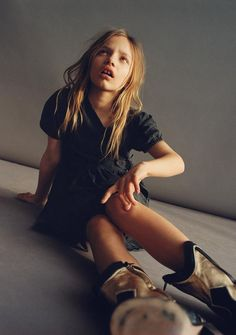 ZARA - #zaraeditorial - STORIES - DENIM BLACK&WHITE Zara Kids, Zara United States, Black Denim, Kids Boys, Leather Boots, Portrait Photography, Oxford Shoes, Black And White, Spring