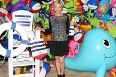 Need some pool party inspiration? Chandon kicked off the season in quirky style at its American Summer Soiree on May 21 and made creative use out of an inexpensive prop: pool toys. Celebrity guests such as Brittany Snow posed in front of a step-and-repeat that comprised bright blue dolphins, smiling pink flamingos, branded beach balls, and other inflatable toys.