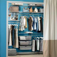 Elfa closet - idea for guest room