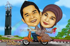 karikatur romantis tugu khatulistiwa JASA KARIKATUR wajah digital www.kaliaja.com , infokaliaja@gmail.com 081239687221 -29e9d899 @kaliaja