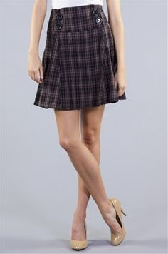 Too Cool For School Skirt- SALE under $10.00