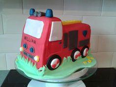 Fireman Sam cake.