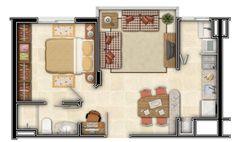 Plano de casa para matrimonio