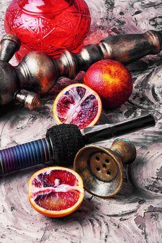Shisha with orange taste Premium Photo Hookah Smoke, Fruit Vector, Hookah Lounge, Joker Wallpapers, Fruit Illustration, Free Fruit, Smoke Art, Orange Fruit, Hookahs