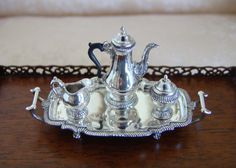 Peter Acquisto, IGMA fellow - limited edition of 300 sterling silver tea/coffee service