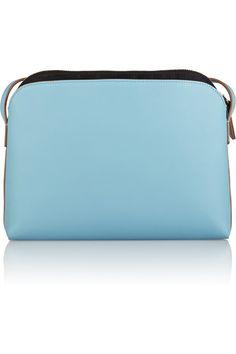 The Row | Leather shoulder bag | NET-A-PORTER.COM