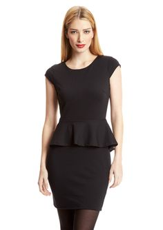 JAYE.E. Peplum Dress
