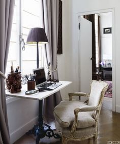 HOUSE TOUR East Meets West In A Sophisticated Paris Pied Terre