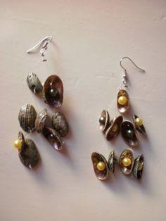 summer dangle earrings by katerinaki106 on Etsy, $10.00 Dangle Earrings, Dangles, Pearls, Spring, Summer, Etsy, Jewelry, Jewellery Making, Jewerly