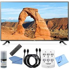 #techie #bestoftheday Bundle Includes #55LF6000 - 55-Inch 1080p 120Hz LED HDTV Performance TV/LCD Screen Cleaning Kit HDMI to HDMI Cable 6' x 2 6 Outlet Wall Tap...
