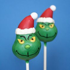 Grinch Cake Pops are a Seussical Sweet - Foodista.com