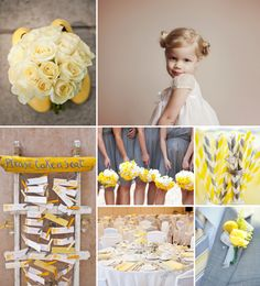 A grey & yellow Wedding Come and check out our charming flower girl dresses and page boy outfits at www.littleeglantine.com Please note that we do not own any of the 6 other pictures. Photos credit: http://jvgphotography.com/ / http://abritandablonde.com/ / http://www.flickr.com/photos/56507017@N04/