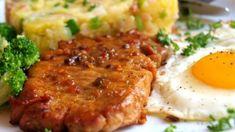 """Luxusní nepečený dezert """"pštrosí vejce"""": Naprosto bezpracná příprava, a výsledek perfektní - varenirecept No Salt Recipes, Pork Recipes, My Recipes, Cooking Recipes, Pork Tenderloin Recipes, Risotto, Mashed Potatoes, Good Food, Food And Drink"""