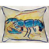 Found it at Wayfair - Coastal Lobster Indoor/Outdoor Lumbar Pillow