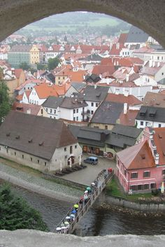 Cesky Krumlov, Czech Republic is just 2 hours by bus from Prague. Turns on, Bohemia is a place in western Czech and that's where my favorite fashion styles' name came from. It was assumed the Romani came from that area, and therefore they got called Bohemians.