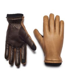 And neither are cold fingers or unanswered emails. Oliver leather touchscreen gloves ($138) by Honns, honns.com