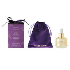KORRES Golden Krocus Ageless Saffron Elixir - A complex of amino acids, polysaccharides, & copper boosts collagen production to help firm and lift skin while reducing the appearance of wrinkles. Low molecular weight hyaluronic acid easily and deeply penetrates the skin to smooth, plump, & brighten.