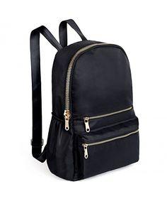 791d61c9185d Fashion Backpack Oxford Waterproof Cloth Nylon Rucksack School College  Bookbag Shoulder Purse - Black - CI182ZWAO6D