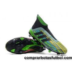 new arrivals a184e dc402 Venta Botas De Futbol Adidas Predator 18+ FG Camo Negro Amarillo Verde  visit us