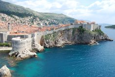 ~ Dubrovnik ~ Travel to Croatia on a Rick Steves Best of the Adriatic in 14 Days Tour. On Day roam along Dubrovnik's walkable walls that seem to have sprouted up out of the sea. Hotel Dubrovnik Palace, Korcula Croatia, Montecarlo Monaco, Places To Travel, Places To Go, Rick Steves, Photography Tours, Croatia Travel, Beautiful Places To Visit