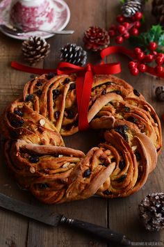 Next Previous Christmas is at the door and, although I really enjoy this festive season, the truth is begin that Christmas Baking, Pulled Pork, Nutella, Cake Recipes, Food Photography, Christmas Wreaths, Bakery, Food And Drink, Banana