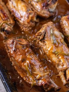 Smothered Turkey Wings Recipe - Coop Can Cook Fried Turkey Wings Recipe, Baked Turkey Wings, Turkey Wings And Gravy Recipe, Crockpot Turkey Wings, Turkey Drumstick Recipe, Turkey Drumsticks, Turkey Leg Recipes, Chicken Wing Recipes, Smothered Turkey Wings