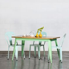 Buy Small Nash Table (Mint Green) Online | Retro, Vintage & Industrial Tables - Retrojan