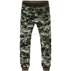 pantalones chinos flaco joggers camuflaje hombre de camuflaje ...