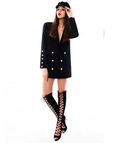 LIZ este acel sacou lung dama oversize de care te indragostesti inca de la prima purtare a acestuia. Este un produs extrem de indraznet si totodata incredibil de stilat. Il poti purta fara sa iti faci prea multe probleme impreuna cu o pereche de pantaloni largi sau skinny. Skinny, Coat, Jackets, Fashion, Down Jackets, Moda, Sewing Coat, Lean Body, Fashion Styles