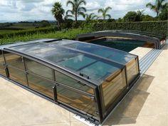 Pool enclosure - open segments Pool Enclosures, Splish Splash, Heat Pump, New Zealand, Swimming, Water, Swim, Gripe Water, Swimming Pool Decks