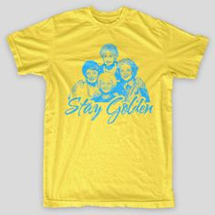 STAY GOLDEN The Golden Girls Sophia Miami BETTY WHITE Getty comedy T-Shirt #Misc #ScreenPrintedT