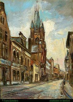 Eindhoven, Rechtestraat.door R. van Beek