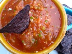 Red Tomato Salsa | My Colombian Recipes