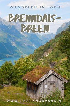 Brenndalsbreen is één van de vele zijarmen van de Jostedalsbreen, de grootste gletsjer van Europa's vasteland. Als je gaat wandelen in Noorwegen, is deze gletsjer een absolute aanrader. Het is er schitterend en lang niet zo druk als bij de Briksdalsbreen! Brochure Ideas, Denmark, Norway, Sweden, Europe, Vacation, Mountains, Travel, Rice