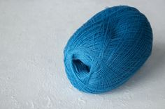 Cobweb turquoise color merino wool yarn  haapsalu shawl yarn