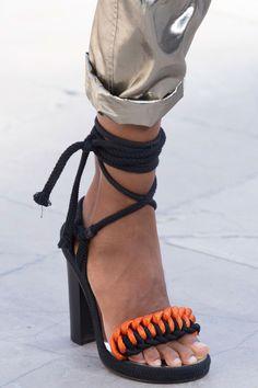 fashionfeude:  Shoe Porn at Isabel Marant Spring Summer 2016 | PFW