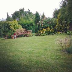 #ogród #ławka #garden #latowogrodzie