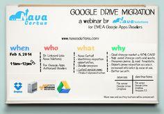Nava Certus:  Google Drive migration webinar for EU-based Google Apps resellers.