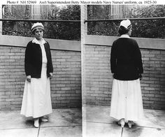 For anyone (else) with an interest in historical nurse's uniforms, I thought…