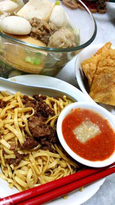 Hakka noodle ala Ipoh, Malaysia.