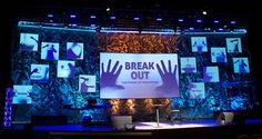 Hope Community Church (Raleigh, NC) - Breakout Sermon Series Stage - 2011