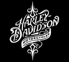 clip art harley davidson | Beautiful Harley Davidson Logo - All White Logo by daeryk