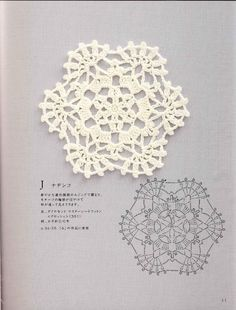 ISSUU - Crochet motif and edging by vlinderieke