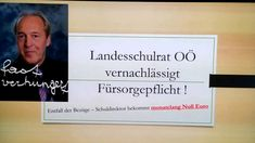 Schuldirektor Christoph Ludwig - Landesschulrat für OÖ. vernachlässigt F... Ludwig, Letter Board, Lettering, Videos, School, Drawing Letters, Brush Lettering